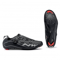 Zapatillas de Ciclismo FLASH TH Negro NORTHWAVE