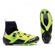 Zapatillas de Ciclismo RAPTOR GTX Gore Tex Amarillo Fluo-Negro NORTHWAVE