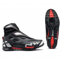 Zapatillas de Ciclismo X-CROSS GTX Gore Tex Negro NORTHWAVE