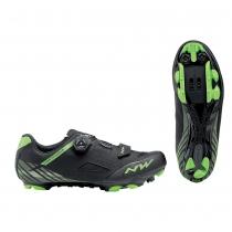 Zapatillas ciclismo ORIGIN PLUS Negro-Verde MTB-XC NORTHWAVE