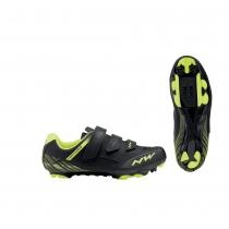 Zapatillas ciclismo ORIGIN Negro-Amarillo Fluo MTB-XC NORTHWAVE
