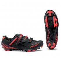 Zapatillas ciclismo ORIGIN Negro-Rojo MTB-XC NORTHWAVE