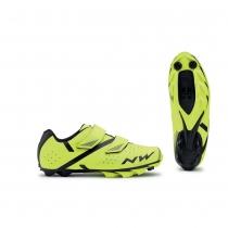 Zapatillas ciclismo SPIKE 2 Amarillo Fluo-Negro MTB-XC NORTHWAVE