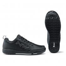 Zapatillas ciclismo CLAN Negro MTB-FLAT NORTHWAVE