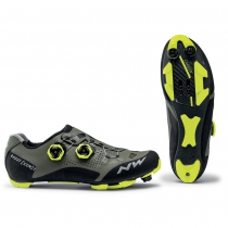 Zapatillas ciclismo GHOST XCM 2 Forest-Amarillo Fluo MTB-XC NORTHWAVE