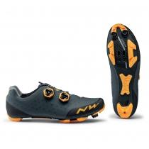 Zapatillas ciclismo REBEL 2 Antracita-Naranja MTB-XC NORTHWAVE