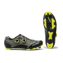 ZAPATILLAS NORTHWAVE GHOST XCM 2 FOREST AMARILLA FLUO