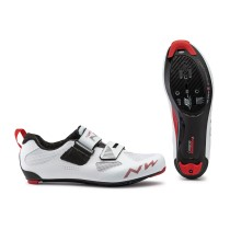 ZAPATILLAS TRIATLÓN NORTHWAVE TRIBUTE 2 CARBON BLANCA