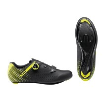ZAPATILLAS NORTHWAVE CORE PLUS 2 NEGRA AMARILLA FLUO