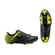 ZAPATILLAS NORTHWAVE ORIGIN PLUS 2 NEGRA AMARILLA FLUO