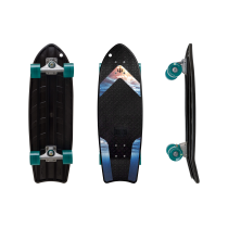 "SurfSkate 27"" Bureo ""The Ahi"" Ocean Grip Con Ejes CX Color RAW"
