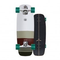 "SurfSkate Carver 27,5"" Mini Simms con Ejes C7 color Raw"
