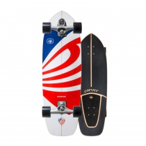 "SurfSkate Carver 30.75"" USA Booster Con Ejes C7 Color Raw"
