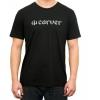 Camiseta m/c Carver Logo Tee Negro