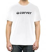 Camiseta m/c Carver Logo Tee Blanco