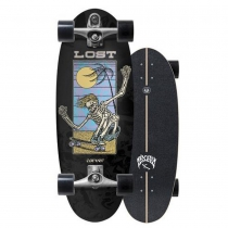 "SurfSkate Lost Carver 28"" Bean Bag Con Ejes C7 Raw"