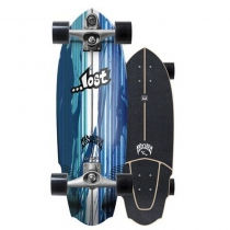 "SurfSkate Lost Carver 30"" V3 Rocket Con Ejes C7 Raw"