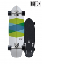 "SurfSkate Triton 32.5""Green Glass Con Ejes CX 6.0 Nº2"