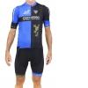 Maillot m/c Team Edition CORRATEC Negro-Azul-Dorado