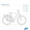 Bicicleta Eléctrica Urban Fischer Cita 2.0