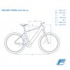 "Bicicleta Eléctrica Fischer Terra 2.0i 27,5"" Negro Grafi Mate 557Wh"
