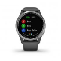 Vivoactive 4 MUSIC Shadow Gray/Silver