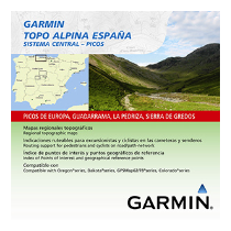 GARMIN TOPO ALPINA CENTRAL PICOS