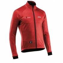 Chaqueta m/l EXTREME 3 Prot. Total Rojo-Negro NORTHWAVE