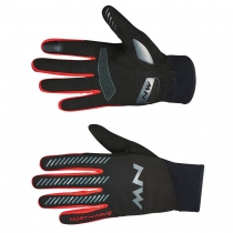 Guante Largo CORE MT Negro-Rojo NORTHWAVE