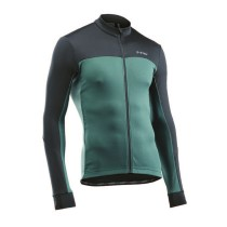 Maillot FORCE 2 Verde Forest-Negro