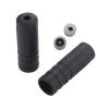 Tope Sellado Funda Cambio Jagwire 4 mm Plástico Negro 100 pcs