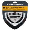 Kit XL Cambio y Desviador Jagwire Cable/Funda Sram/Shimano Blanco