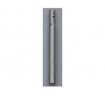 Tija de sillín para bicicleta JUMPER (corta 15,5 cms) color Silver