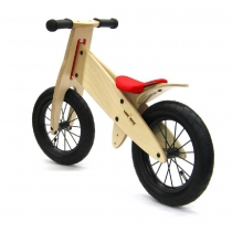 Bicicleta Kokua LikeaBike SPOKY color rojo para niño