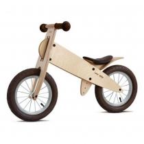 Bicicleta Kokua LikeaBike SPOKY SPECIAL color CHOCOLAT para niño