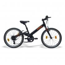 Bicicleta Kokua LiketoBike 20 color negro-naranja para niño