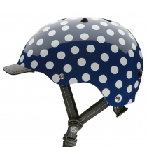 Casco Nutcase Navy Dots, Street