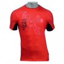 Camiseta m/c GARDA Rojo