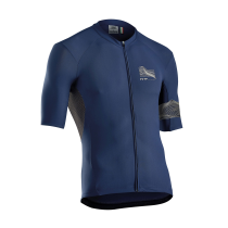 Maillot m/c EXTREME 3 Crem. Total Azul
