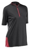 Camiseta m/c TRAIL WMN 2  Gris-Rojo