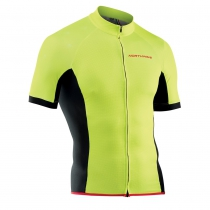 Maillot m/c FORCE Amarillo Fluo