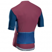 Maillot m/c EXTREME 4 Granate-Azul