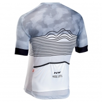 Maillot m/c BLADE AIR Blanco-Negro