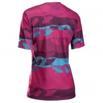 Maillot m/c XTRAIL WMN MTB Beetroot-Verde