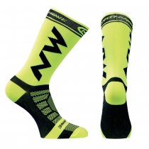 Calcetín EXTREME LIGHT PRO Amarillo Fluo-Negro