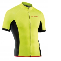 MAILLOTS M/C FORCE CREM. AMARILLO FLUO NORTHWAVE
