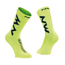 CALCETINES EXTREME AIR AMARILLO FLUO-NEGRO NORTHWAVE