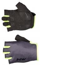 GUANTES ACTIVE GRIS-AMARILLO FLUO NORTHWAVE