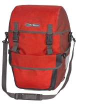 Alforja ORTLIEB BIKE-PACKER PLUS QL2.1 PAR (2x) 21L Rojo-Gris