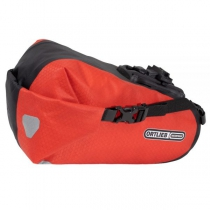 SADDLE-BAG TWO Bolsa Sillín  4,1 Litros Rojo-Negr